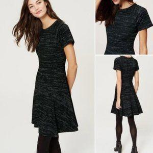 Ann Taylor Loft Short Sleeve Fit & Flare Dress
